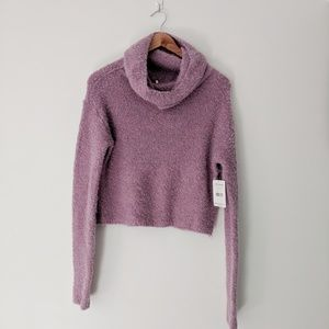 Free People Chunky Plush Pullover Sweater